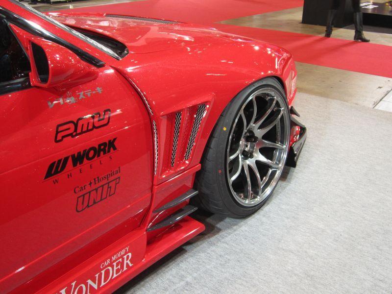 画像1: GLARE エアロ   GT・フロントワイドフェンダー (50mm)    180SX  (RS13・RPS13)